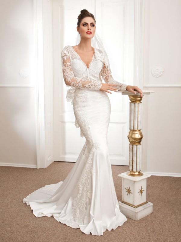 Adonia, mermaid wedding dress, Royal Bride Anemon collection 2015