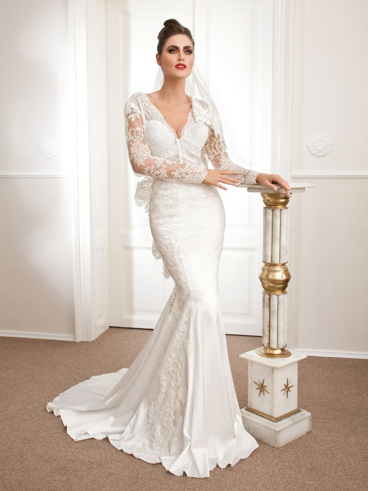 Adonia, mermaid wedding dress, Royal Bride Anemon collection 2015