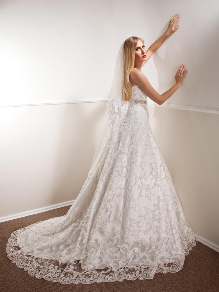 Vjenčanica Alicia, A-kroj, Royal Bride Anemon kolekcija 2015, vjencanice.com.hr