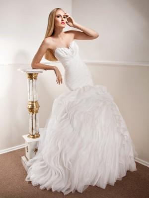 Vjenčanica Anastasia, sirena s korzetom, Royal Bride kolekcija 2015, vjencanice.com.hr
