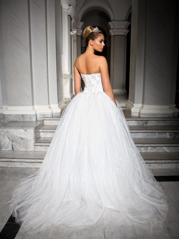Luxor, ball gown, wedding dress Royal Bride Nympha collection 2016