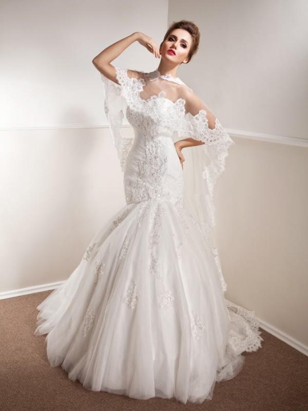 Vjenčanica Maggie D, sirena s korzetom, Royal Bride Anemon kolekcija 2015., vjencanice.com.hr