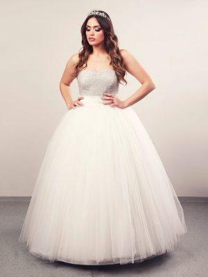 Aalayah plus 1, vjenčanica, krinolina, vjenčanice.com.hr