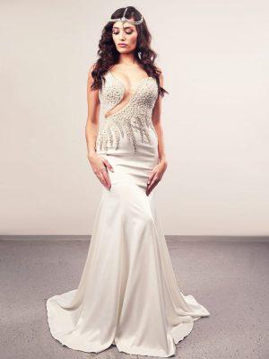 Vjenčanica Dahlia, sirena, Royal Bride kolekcija 2015, vjencanice.com.hr