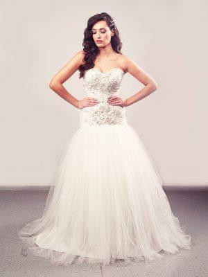Vjenčanica Imperiah, sirena s korzetom, Royal Bride kolekcija 2016, vjencanice.com.hr