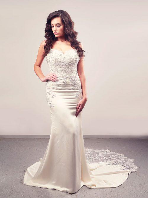 Vjenčanica Jamila, Sirena, Enzoani Beautiful kolekcija 2015, vjencanice.com.hr