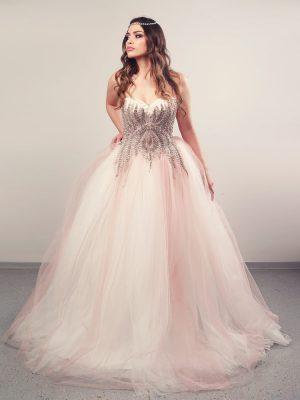 Vjenčanica Rosa, krinolina, Royal Bride kolekcija 2016, vjencanice.com.hr