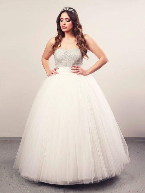 Vjenčanica Aalayah Plus 1, Krinolina, Royal Bride kolekcija 2014, vjencanice.com.hr
