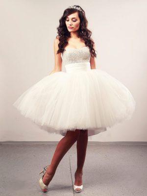 Vjenčanica Aalayah Plus 2, kratka krinolina, Royal Bride kolekcija 2014, vjencanice.com.hr
