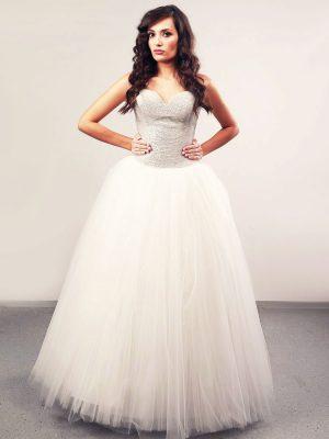 Vjenčanica Aalayah, Krinolina, Royal Bride kolekcija 2014, vjencanice.com.hr