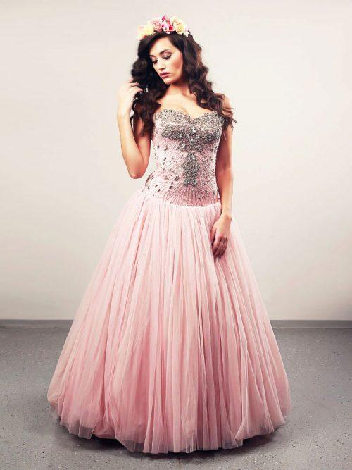 Vjenčanica Ammara, krinolina, Royal Bride kolekcija 2013, vjencanice.com.hr