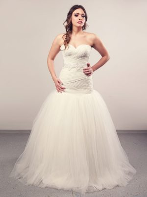 Vjenčanica Inny, Sirena s korzetom, Royal Bride kolekcija 2014, vjencanice.com.hr