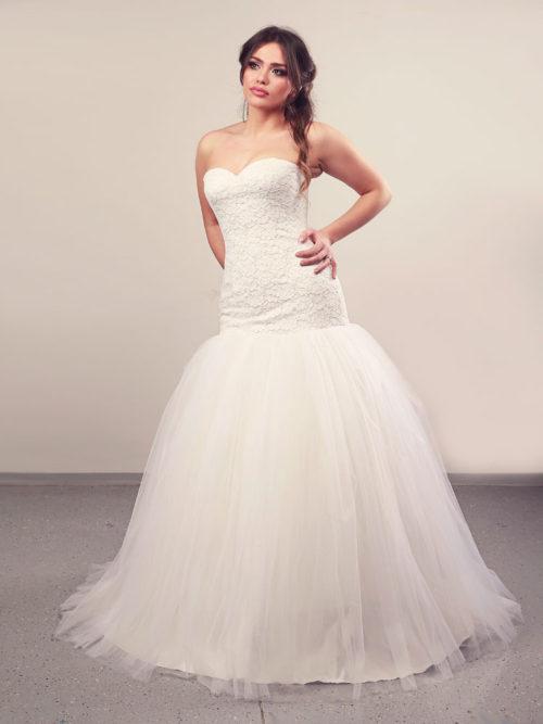 Vjenčanica Ivy Til, Sirena s korzetom, Royal Bride kolekcija 2014, vjencanice.com.hr