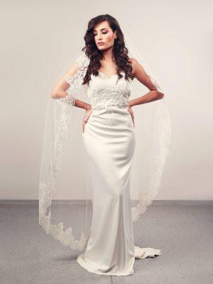 Vjenčanica Sample 9, Sirena, Royal Bride kolekcija 2016, vjencanice.com.hr