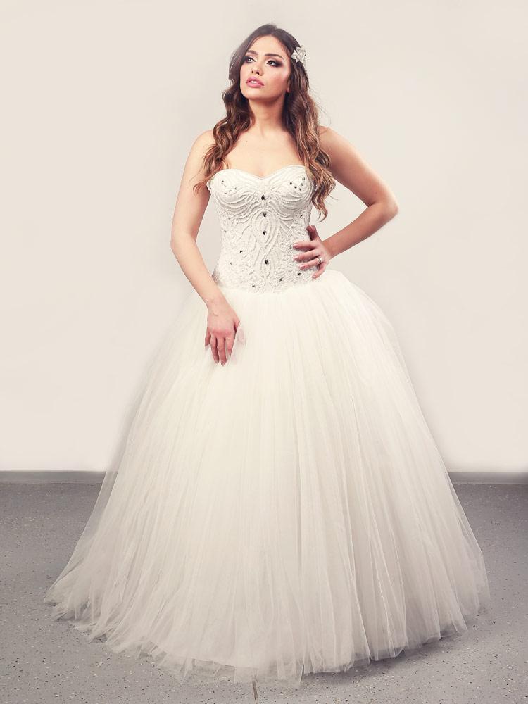 Vjenčanica Valerie, Krinolina, Royal Bride kolekcija 2014, vjencanice.com.hr
