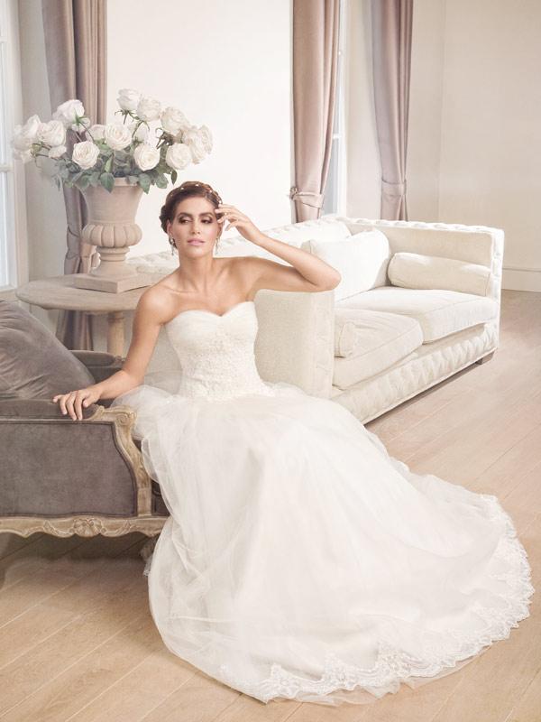 Vjenčanica Vanoa, Krinolina, Royal Bride kolekcija 2014, vjencanice.com.hr