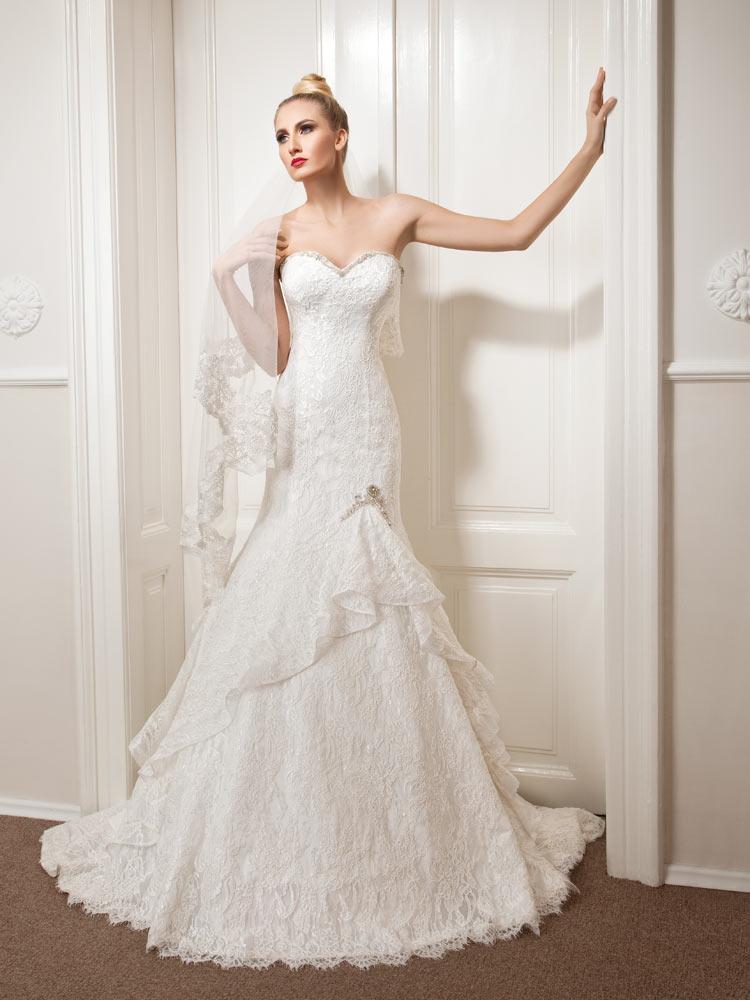 Vjenčanica Anemon, sirena, Royal Bride, kolekcija 2015. vjenčanice.com.hr
