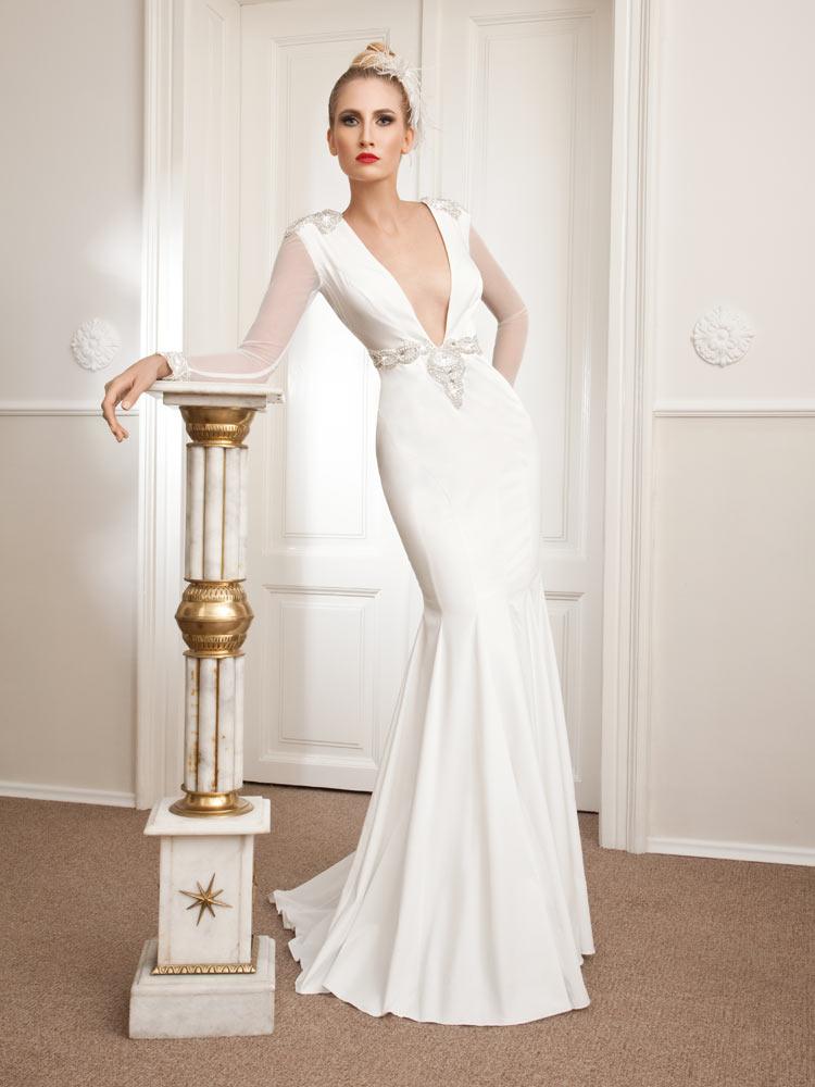 Vjenčanica Athos, sirena, Royal Bride kolekcija 2015, vjencanice.com.hr