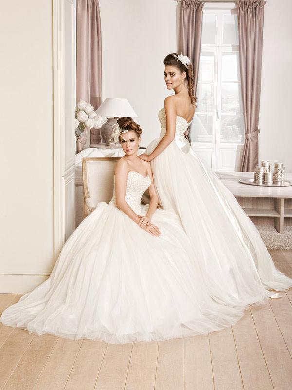 Vjenčanica Perla, krinolina, Royal Bride, kolekcija 2016, vjencanice.com.hr