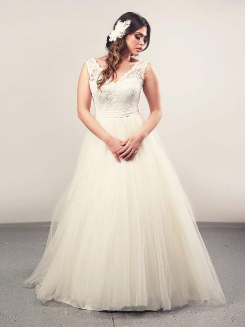 Vjenčanica Vala, Krinolina, Royal Bride kolekcija 2014, vjencanice.com.hr